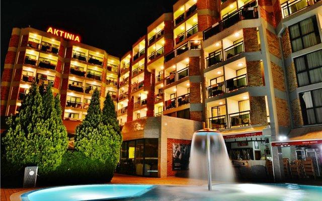 Hotel Aktinia Солнечный берег вид на фасад