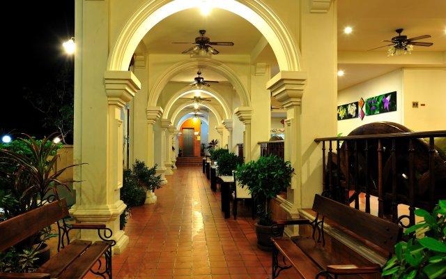 Отель Apk Resort Патонг вид на фасад