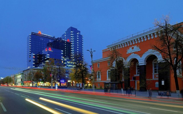 Гостиница Марриотт Воронеж вид на фасад