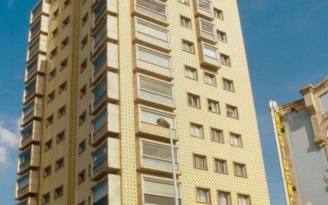 Hotel Miradouro Порту вид на фасад