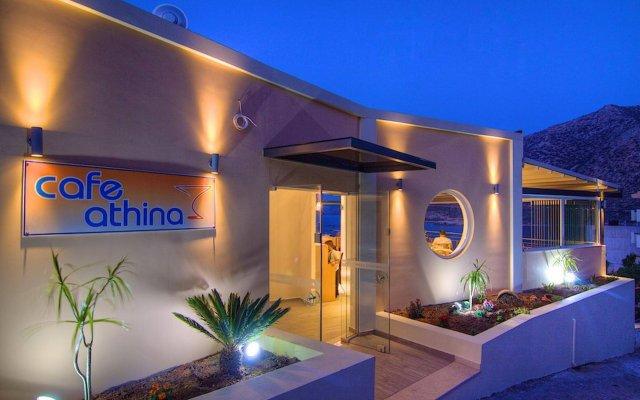 Отель Aparthotel Athina Греция, Милопотамос - отзывы, цены и фото номеров - забронировать отель Aparthotel Athina онлайн вид на фасад