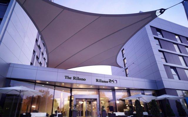 Rilano 24/7 Hotel München вид на фасад