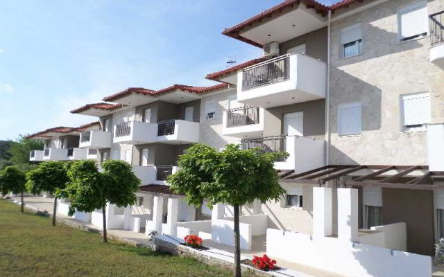 Отель Ampelia Hotel Греция, Ханиотис - отзывы, цены и фото номеров - забронировать отель Ampelia Hotel онлайн вид на фасад