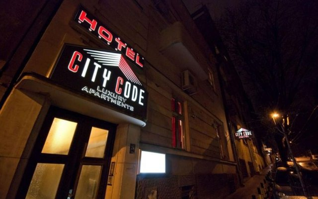 Отель City Code In Joy вид на фасад