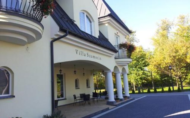 Отель Villa Szamocin вид на фасад