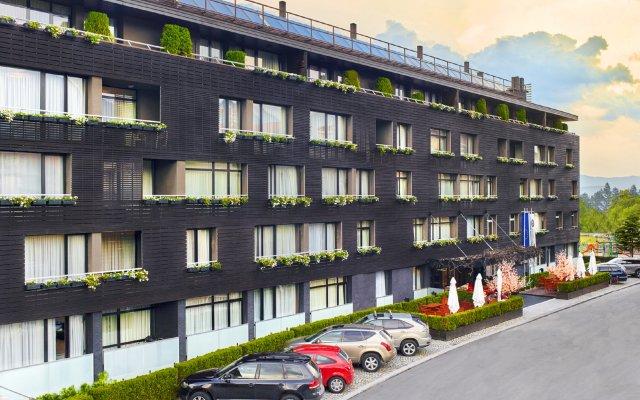 Отель Lucky Bansko Aparthotel SPA & Relax вид на фасад