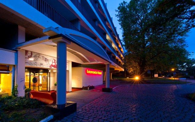 Leonardo Hotel Hannover вид на фасад