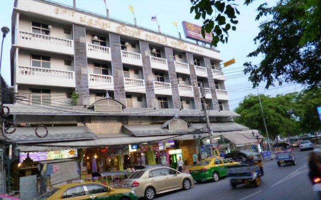 Отель Sawasdee Khaosan Inn Бангкок вид на фасад