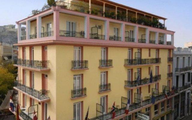Отель Carolina Греция, Афины - 2 отзыва об отеле, цены и фото номеров - забронировать отель Carolina онлайн вид на фасад