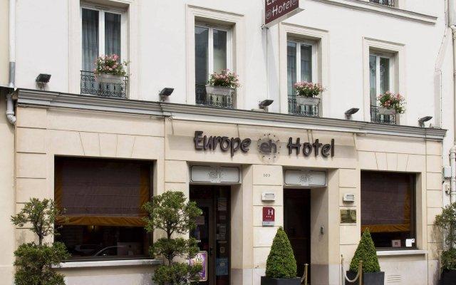Europe Hotel Paris Eiffel вид на фасад