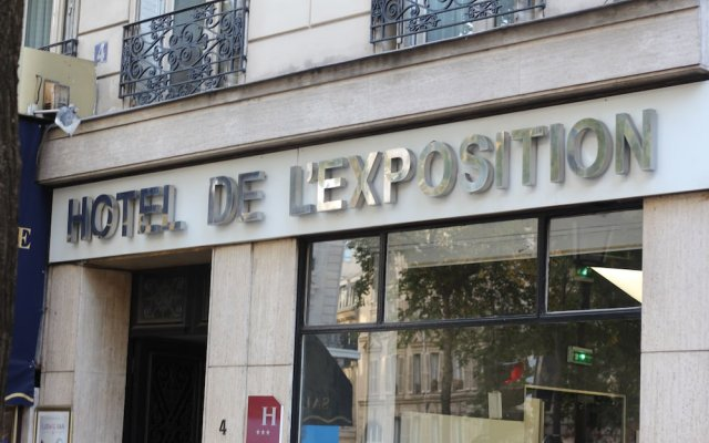 Hotel de l'Exposition Republique вид на фасад