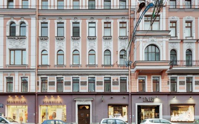 Мини-отель Большой 19 Санкт-Петербург вид на фасад
