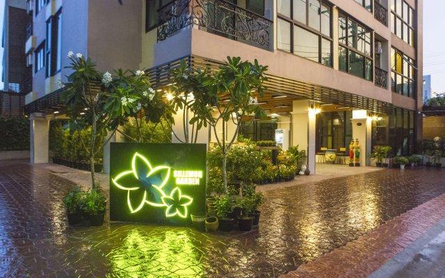Отель Sillemon Garden Бангкок вид на фасад