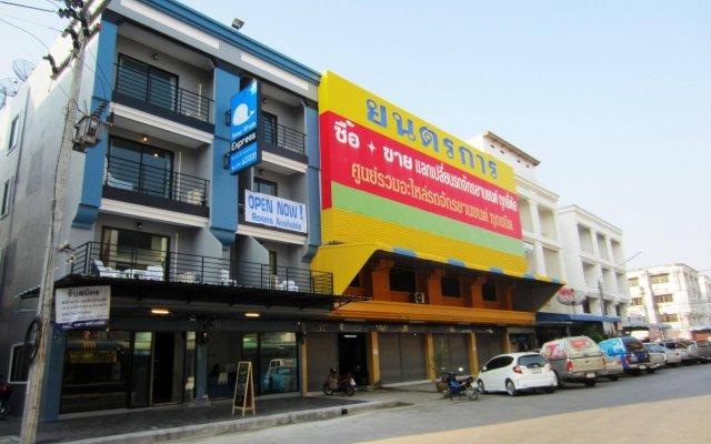Отель Sleep Whale Express Таиланд, Краби - отзывы, цены и фото номеров - забронировать отель Sleep Whale Express онлайн вид на фасад