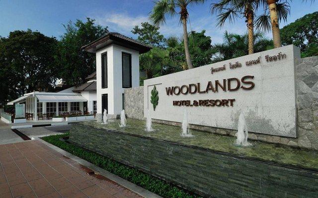 Woodlands Hotel & Resort Паттайя вид на фасад