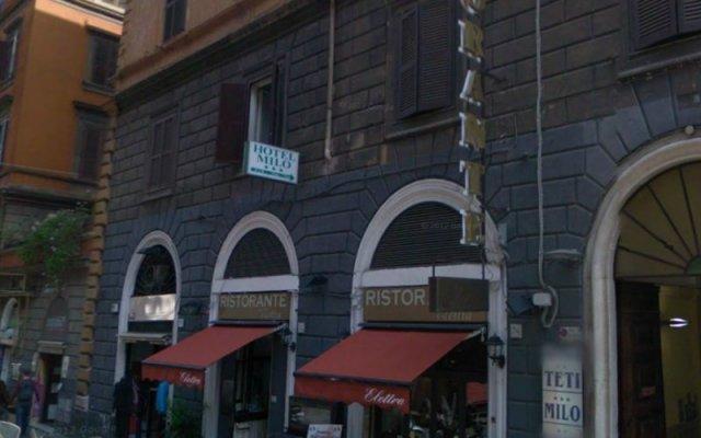 Отель Milo вид на фасад