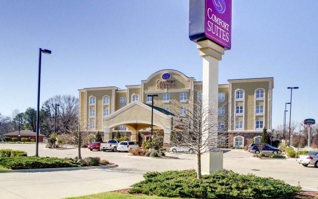 Отель Comfort Suites Vicksburg вид на фасад