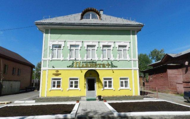 Гостиница Планета Плюс вид на фасад
