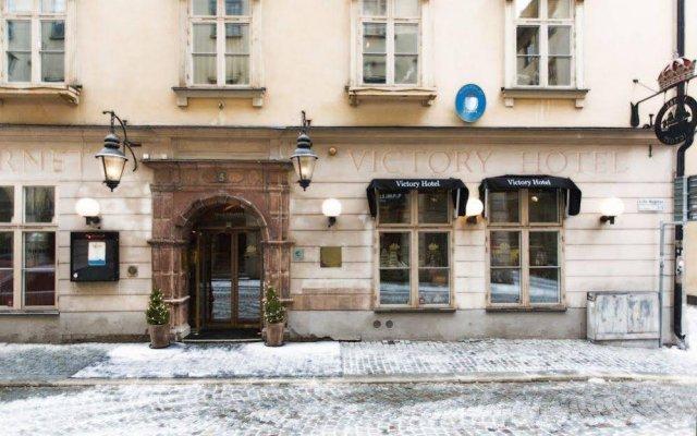 Collector's Victory Hotel Стокгольм вид на фасад