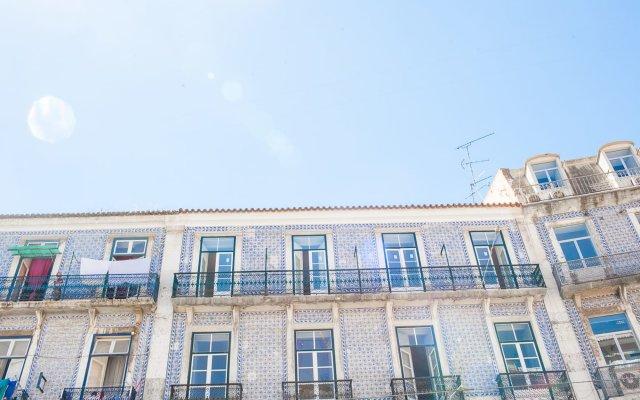 Отель Outsite Lisbon вид на фасад