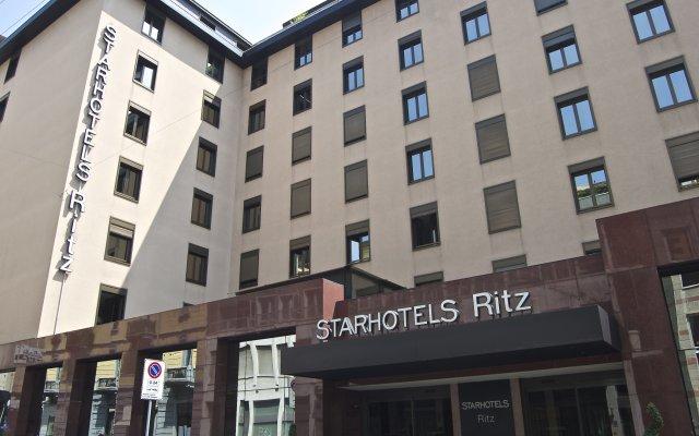 Отель Starhotels Ritz Италия, Милан - 9 отзывов об отеле, цены и фото номеров - забронировать отель Starhotels Ritz онлайн вид на фасад