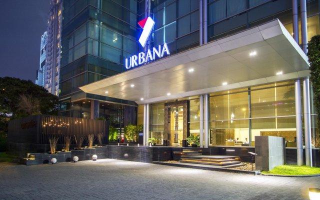 Отель Urbana Sathorn Бангкок вид на фасад