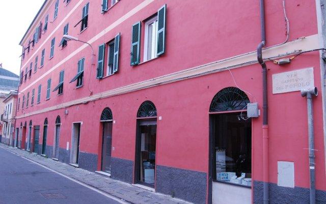 Отель Casa MaMa Генуя вид на фасад