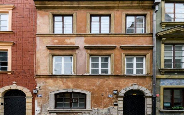 Отель P&O Apartments Krzywe Kolo Польша, Варшава - отзывы, цены и фото номеров - забронировать отель P&O Apartments Krzywe Kolo онлайн вид на фасад
