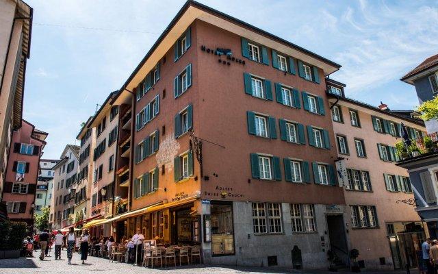 Отель Adler Швейцария, Цюрих - 1 отзыв об отеле, цены и фото номеров - забронировать отель Adler онлайн вид на фасад