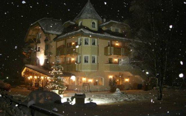 Hotel Sas Morin Долина Валь-ди-Фасса вид на фасад