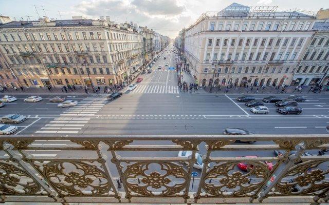 Гостиница Lopatin Nevsky 100 вид на фасад