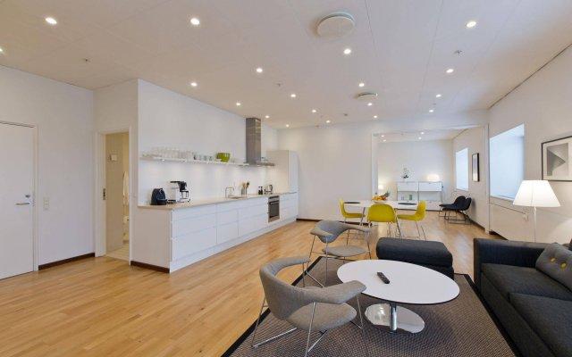 Отель Europahuset Apartments Дания, Копенгаген - отзывы, цены и фото номеров - забронировать отель Europahuset Apartments онлайн комната для гостей
