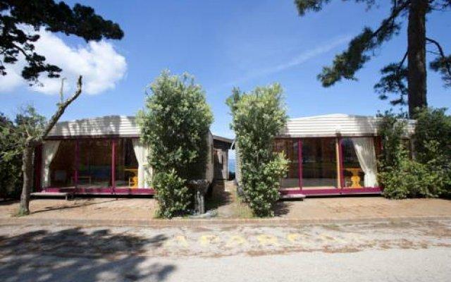 Отель Camping Bayona Playa Испания, Байона - отзывы, цены и фото номеров - забронировать отель Camping Bayona Playa онлайн вид на фасад