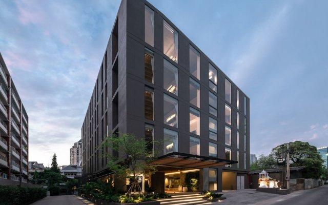 Отель T2 Sathorn Residence Бангкок вид на фасад