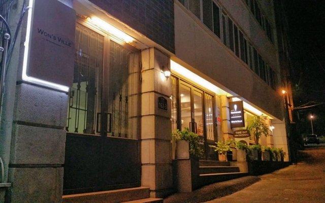 Отель Wons Ville Myeongdong вид на фасад
