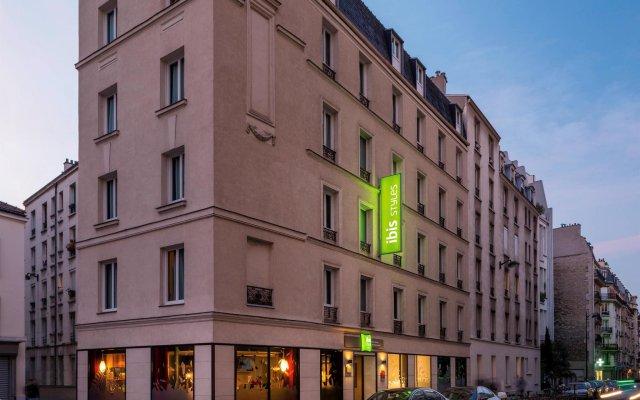 Отель ibis Styles Paris Alesia Montparnasse вид на фасад