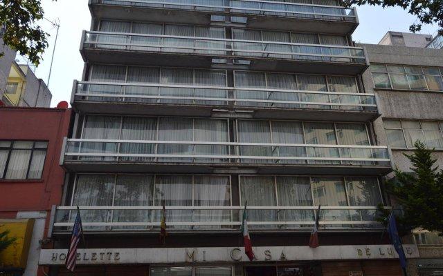Отель Suites Mi Casa Мексика, Мехико - отзывы, цены и фото номеров - забронировать отель Suites Mi Casa онлайн вид на фасад