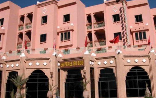 Отель La Perle du Sud Марокко, Уарзазат - отзывы, цены и фото номеров - забронировать отель La Perle du Sud онлайн вид на фасад