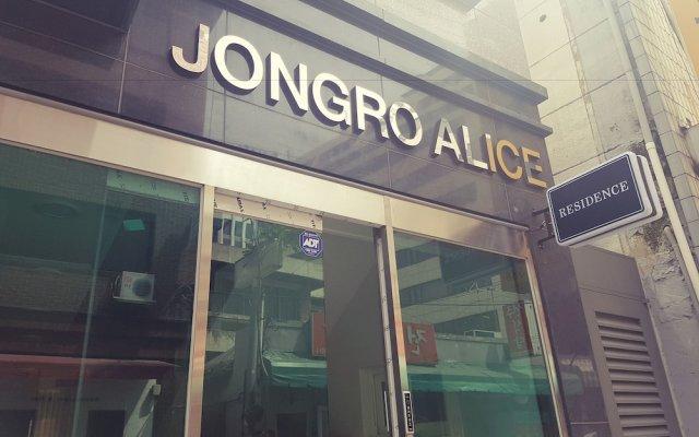 Отель Jongro Alice вид на фасад