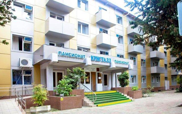 Гостиница Пансионат Кристалл вид на фасад