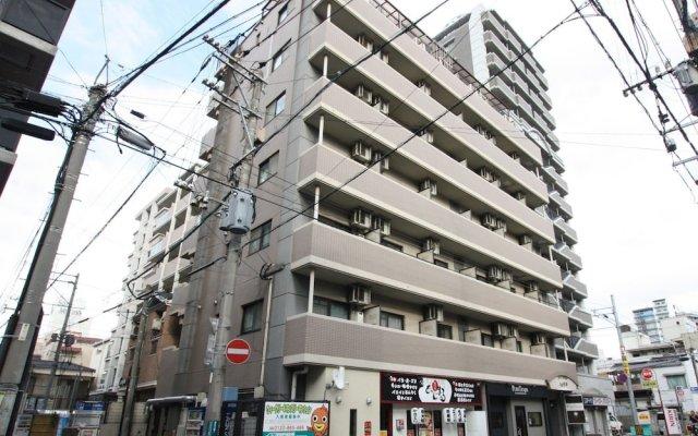 Отель Pure Tenjin Фукуока вид на фасад