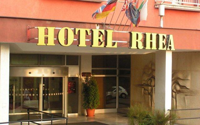 Отель A&O Prague Rhea вид на фасад