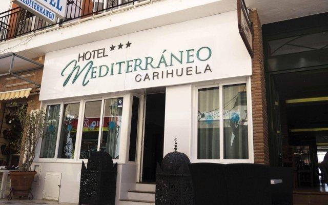 Hotel Mediterraneo Carihuela вид на фасад