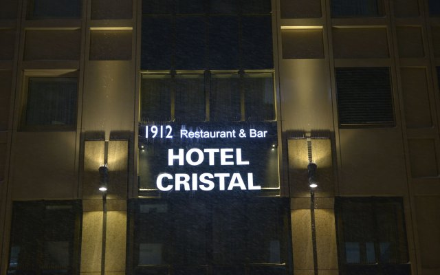 Hotel Cristal München Мюнхен вид на фасад