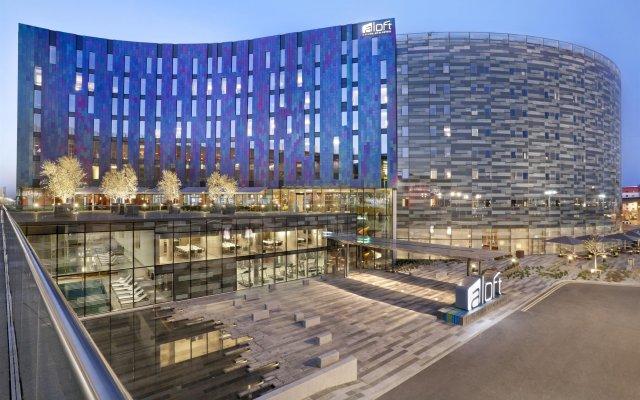 Отель Aloft London Excel Великобритания, Лондон - отзывы, цены и фото номеров - забронировать отель Aloft London Excel онлайн вид на фасад