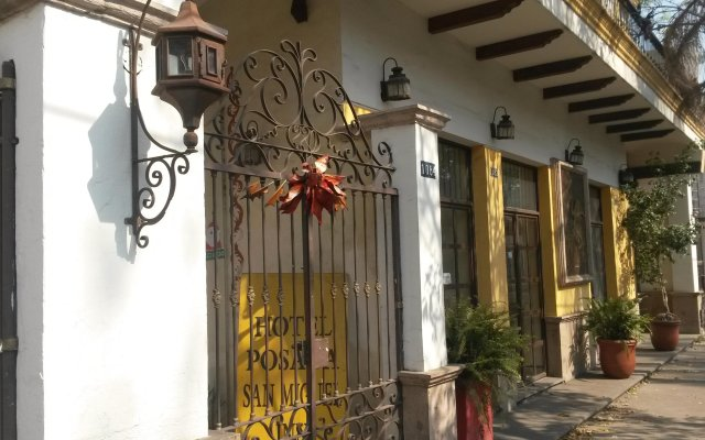 Отель Posada San Miguel Inn вид на фасад