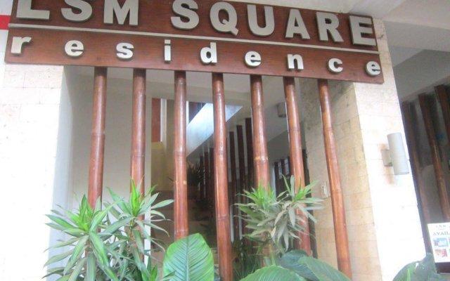 Отель LSM Square Residence Филиппины, остров Боракай - отзывы, цены и фото номеров - забронировать отель LSM Square Residence онлайн вид на фасад
