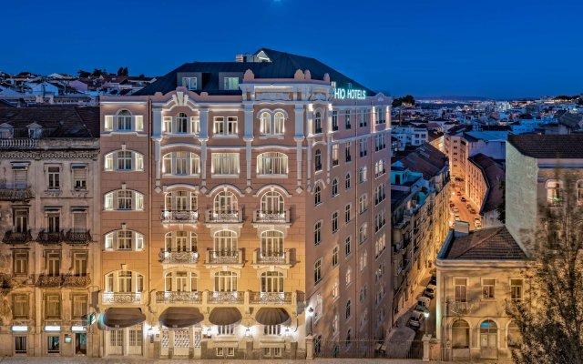 Отель H10 Duque De Loule Лиссабон вид на фасад