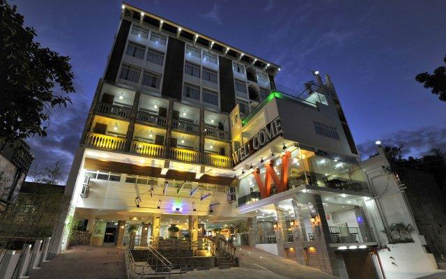 Wellcome Hotel вид на фасад