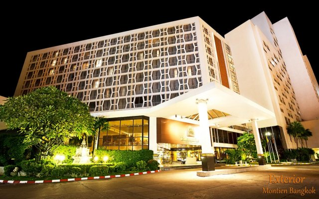 Отель MONTIEN Бангкок вид на фасад